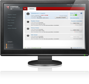 Comodo System Utilities Windows Registry Cleaner And
